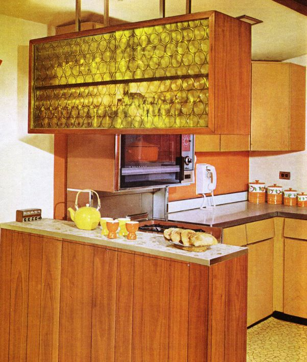 Faux Kitchen Cabinet Doors 1960s Kitchens: From Jet-age To Funkadelic