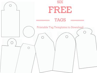 6 Free Printable Gift Tag Templates