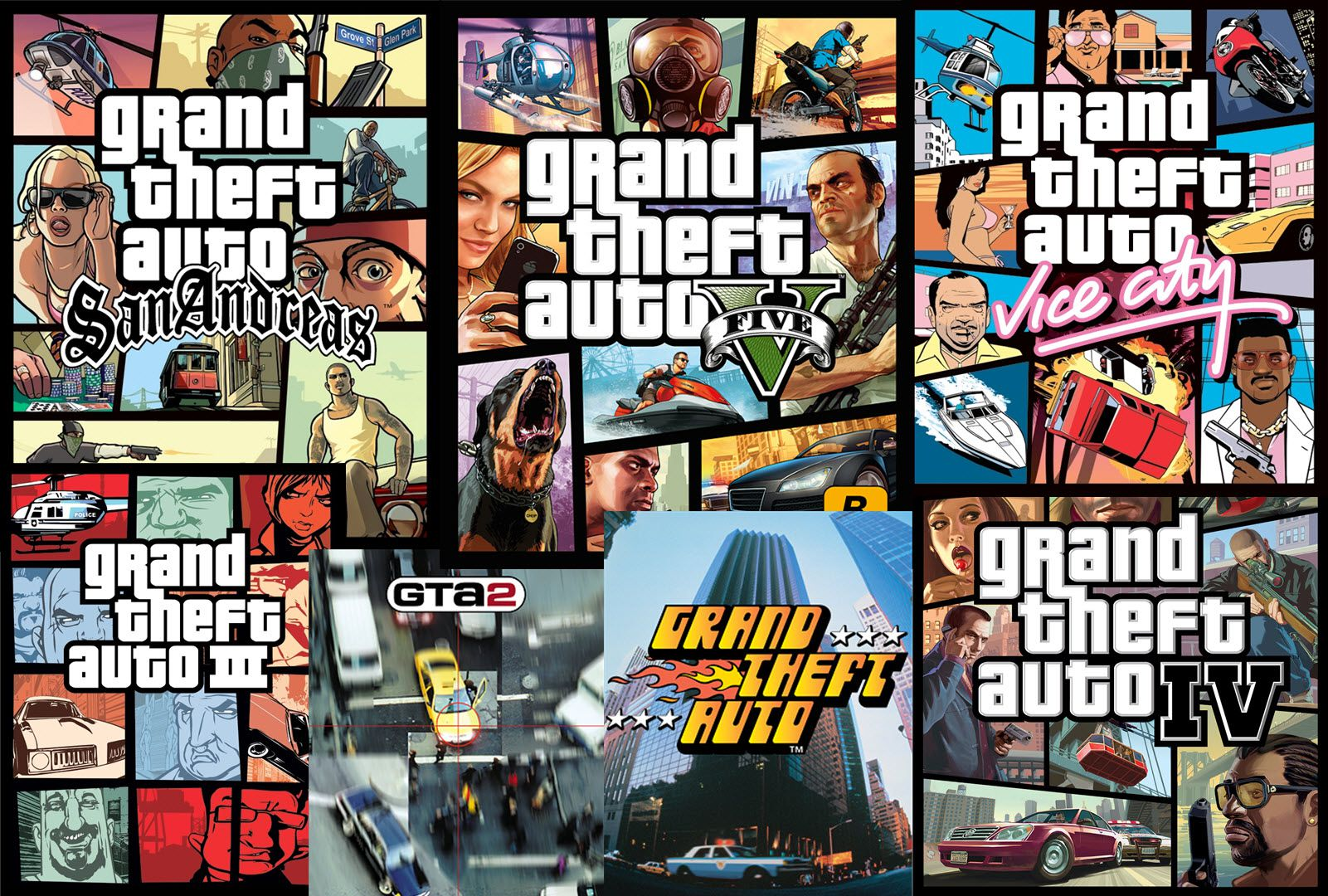 Alle Serien Online Grand Theft Auto Video Game Series
