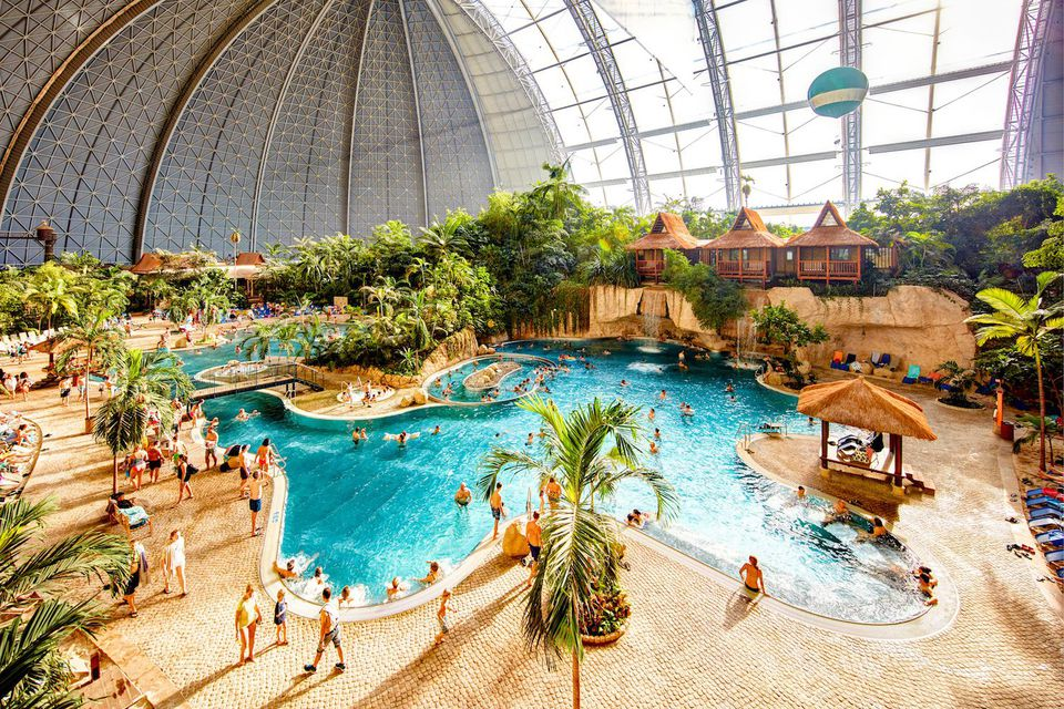Zwembad Roompot Beach Resort The Biggest Indoor Waterparks In The World
