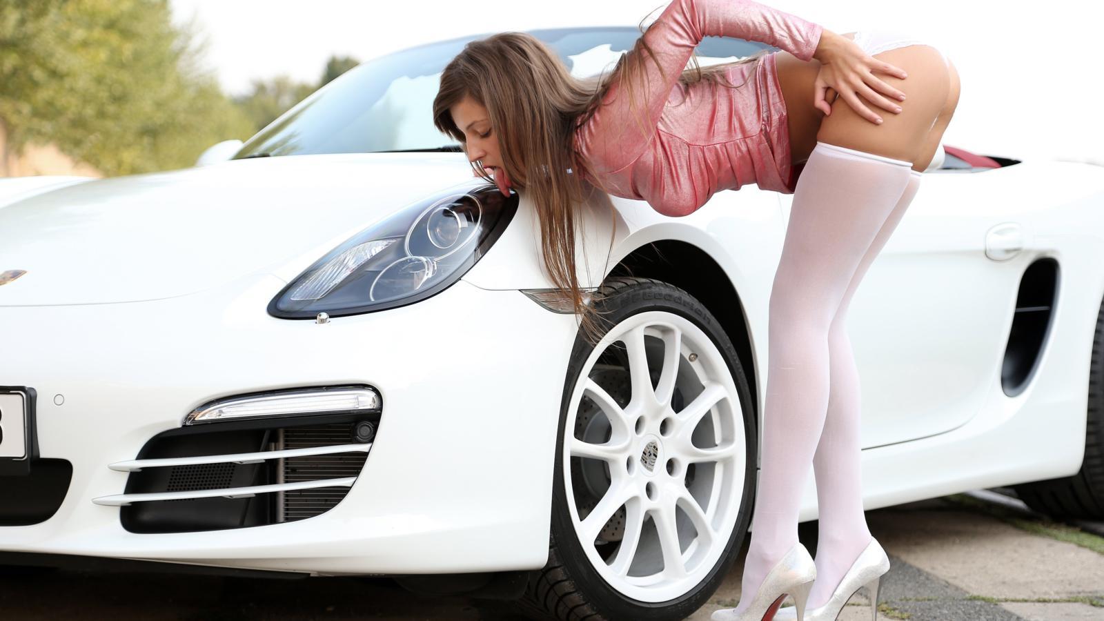 All Car Wallpaper Download Download Photo 1600x900 Maria Ryabushkina Tara Brunette