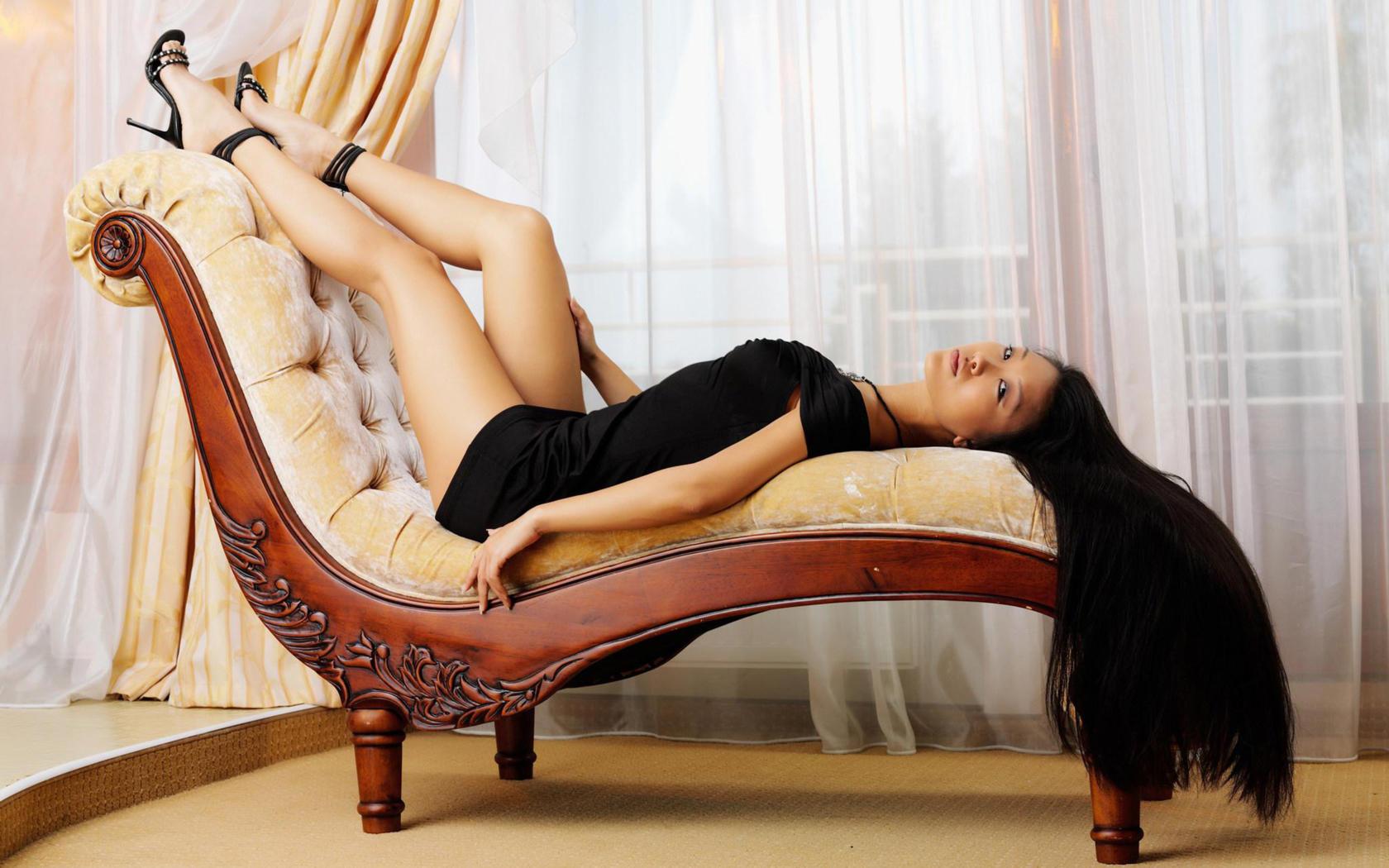 Beautiful Girl Wallpaper Brunette Download Photo 1680x1050 Brunette Asian Mariko A Legs