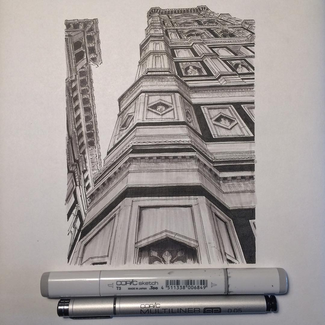 Architectual Illustrations Miniaturearchitecturalillustrations1 Fubiz Media