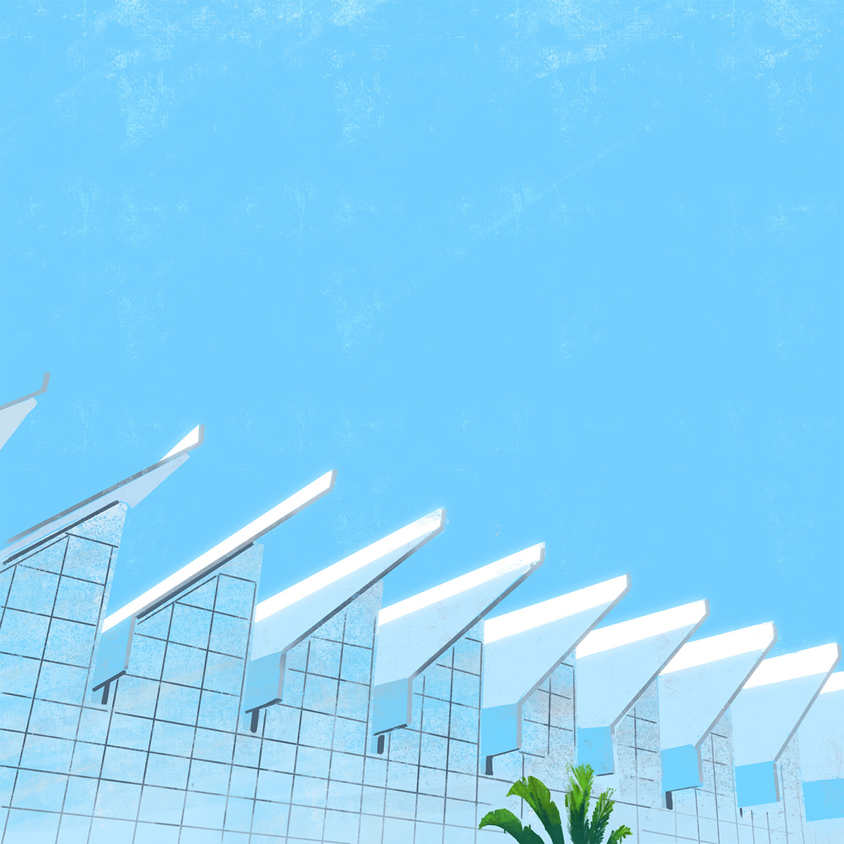 Architectual Illustrations Minimalist Architectural Illustrations Of Californian