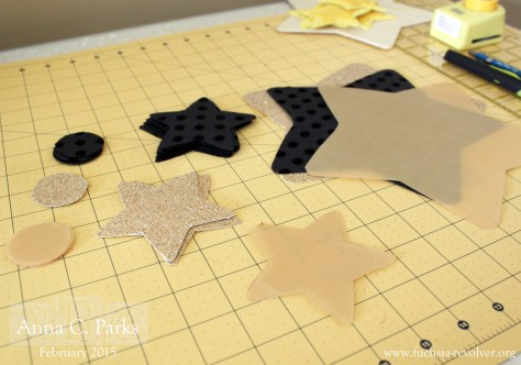 Glitter Star Cut-outs