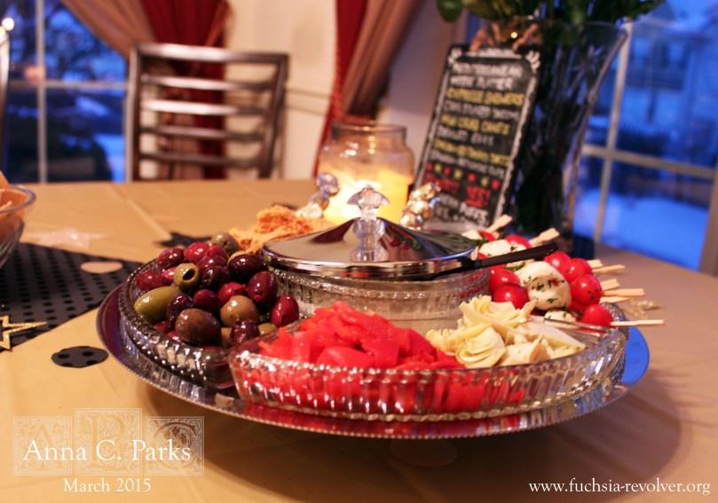 Oscars Party Mezze Plate