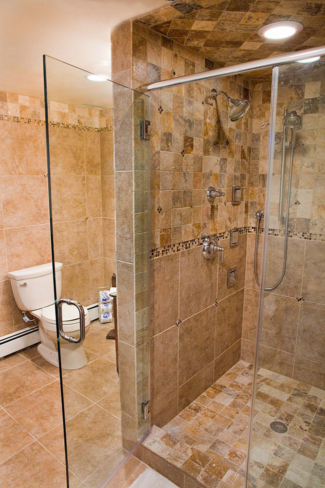 River Rock Tile Shower Floor Fuda Tile Stores | Bathroom Tile Gallery