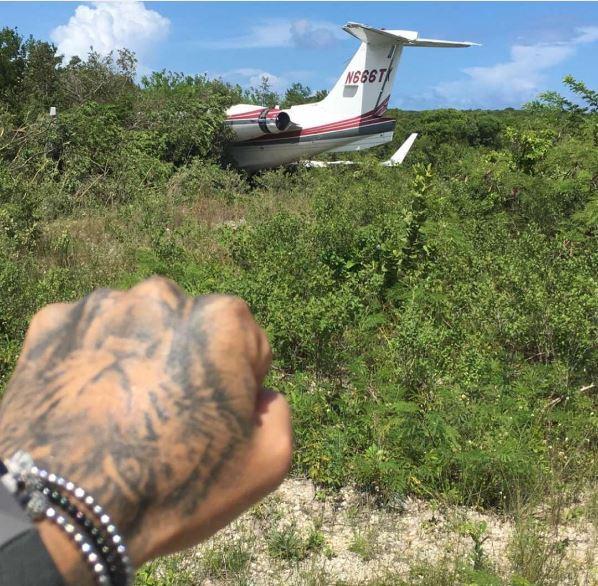 J Balvin y su familia salen ilesos luego de accidente en un avión