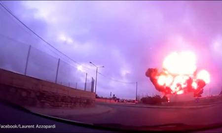 VIDEO: Impresionante momento en que avioneta se estrella
