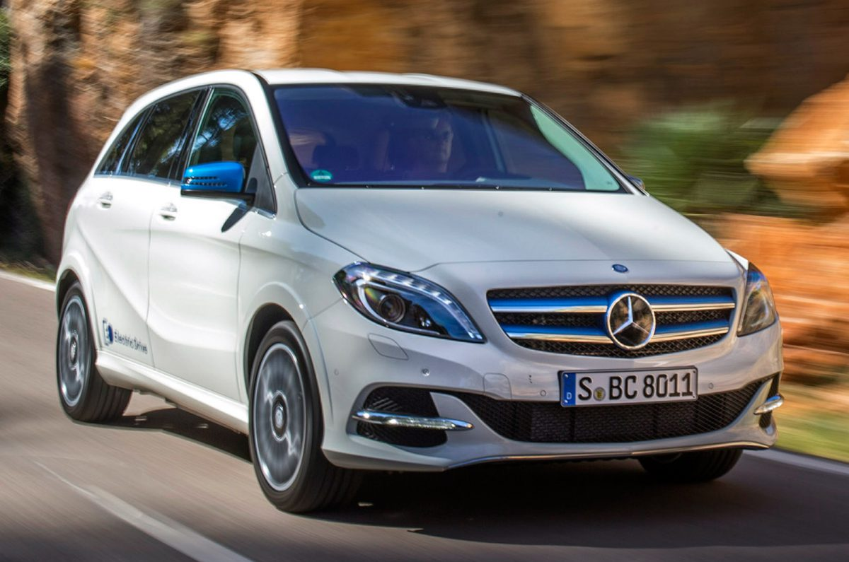 E On Electric Mercedes B Class Electric Not Available To Test Drive A