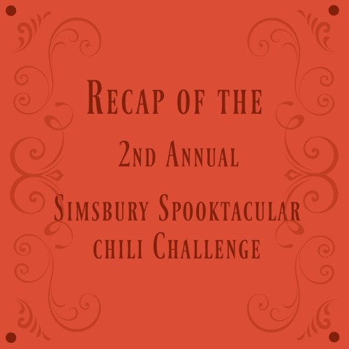 2nd Annual Simsbury Chili Spooktacular  - Recap