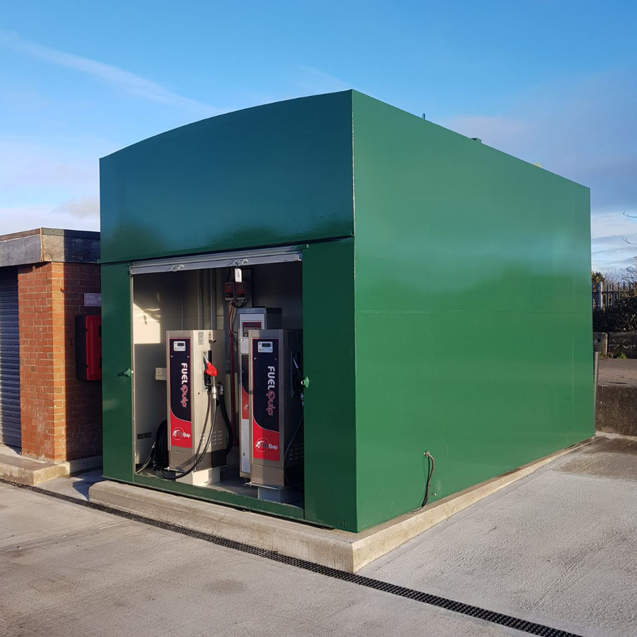 Bunded Fuel Storage Tanks Fuelquip