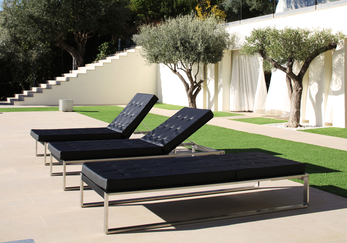 Loungeliegen Siesta Lounge Twin Cima Lounge Kollektion Fueradentro Design