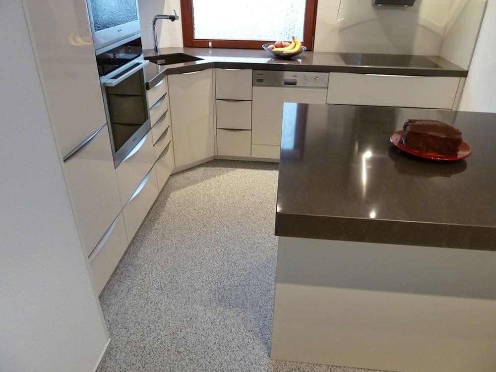 Bodenbelag Für Küche Und Wohnzimmer