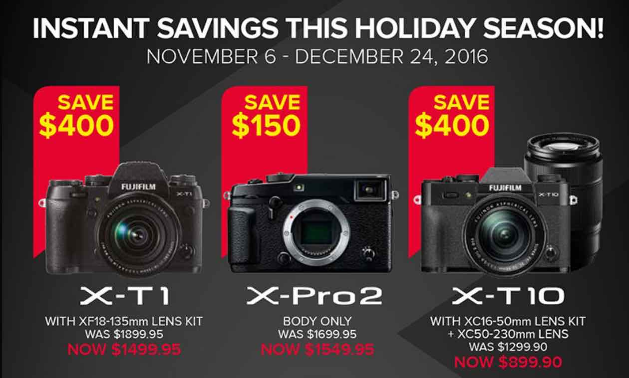 Black Friday 2016 Usa Who Cares Of Black Friday When You Have Fujifilm X Deals Like