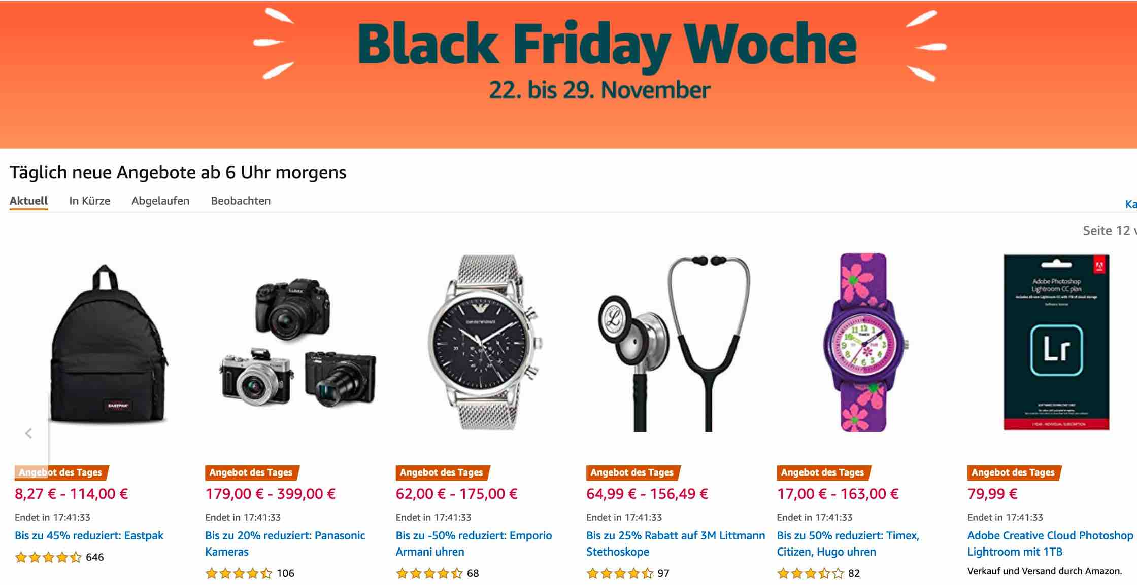 Black Friday Deals Start Now At Amazon Europe Keh Black Friday Flash Deal Fuji Rumors