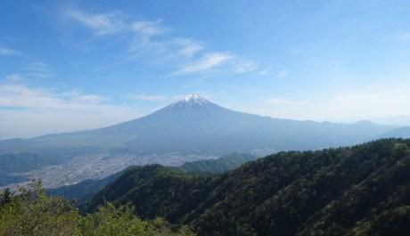 三つ峠富士眺望