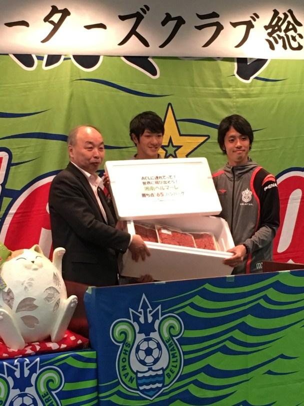 昨年は広島は72、浦和は72、ガンバと瓦斯が63でした。欲を言えばハンバーグあと10個くらい追加ほしいですね(笑)