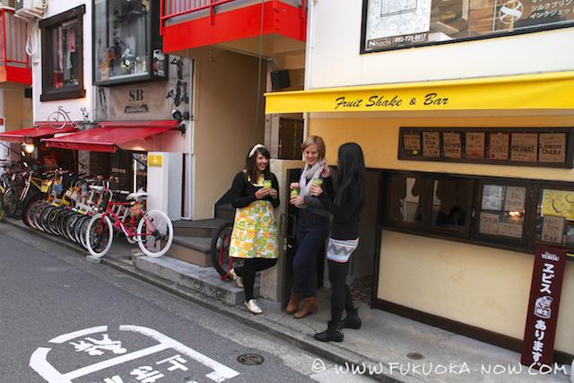fruit and shake bar daimyo 002