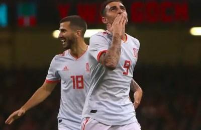 [Vídeo] Resultado, Resumen y Goles Gales vs España 1-4 Amistoso Octubre 2018