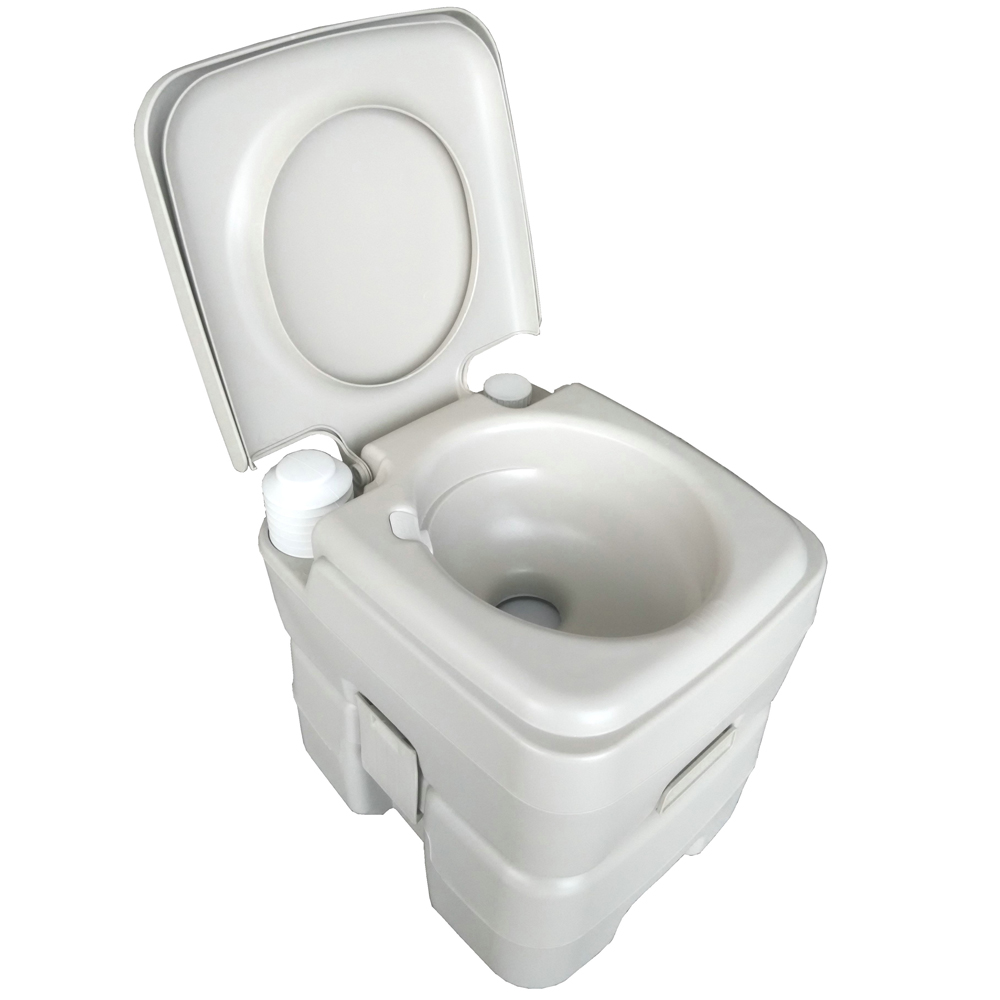 Camping Toilet Details About Portable Camping Toilet Flush Outdoor Potty Commode Seat 20l Vehicle Boat