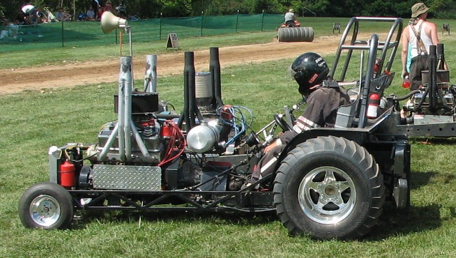 Want To Enter Your Lawn Mower In A Tractor Pull Monroe County Fair