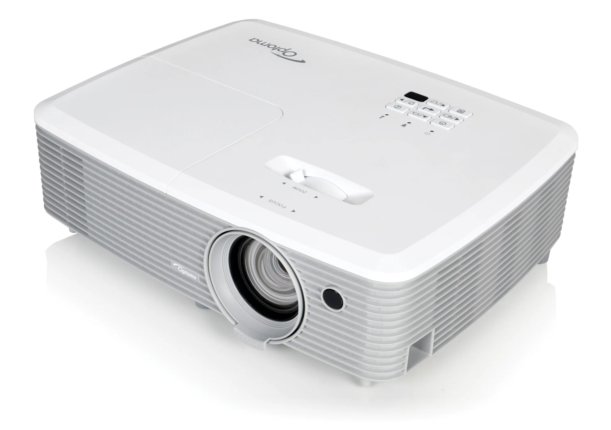 Optoma 3d Optoma Eh400 4000 Lumen 1080p Full 3d Desktop Projector Full