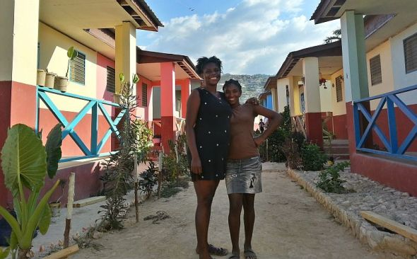 The Fuller Center's Lambi community in Haiti features 56 beautiful, safe, permanent homes. The Fuller Center has worked to build permanent homes in partnership with Haitian families and local laborers in places like Lambi and Pignon — well out of overcrowded and troubled Port-au-Prince.