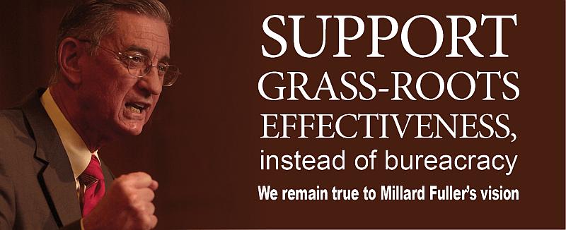 Grass-roots effectiveness