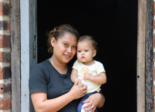 Ahuachapán families helped tremendously by new partnerships