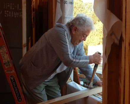 A veteran of multiple Fuller Center builds at the age of 81, Susie Graber is always happy to be working on a home. We asked her what keeps her — along with husband Merle and several other family members — coming back for more Fuller Center builds.