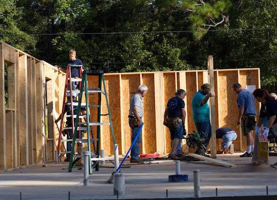 PHOTO GALLERY: Disaster ReBuilders spending two weeks in Ocean Springs, MS
