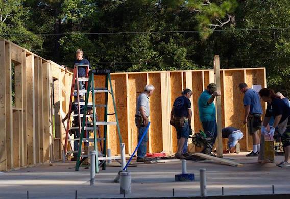 PHOTO GALLERY: Disaster ReBuilders spending two weeks in Ocean Springs, MS