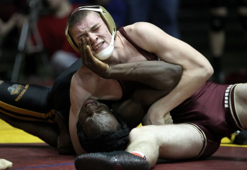 2nd Place Sports News Photo (Rob Ostermaier/Daily Press)