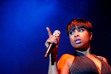 Jennifer Hudson performs during the 48th annual Hampton Jazz Festival Saturday evening at the Hampton Coliseum.