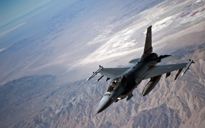 Magnificent General Dynamics F-16 Fighting Falcon Wallpaper | Full HD Pictures