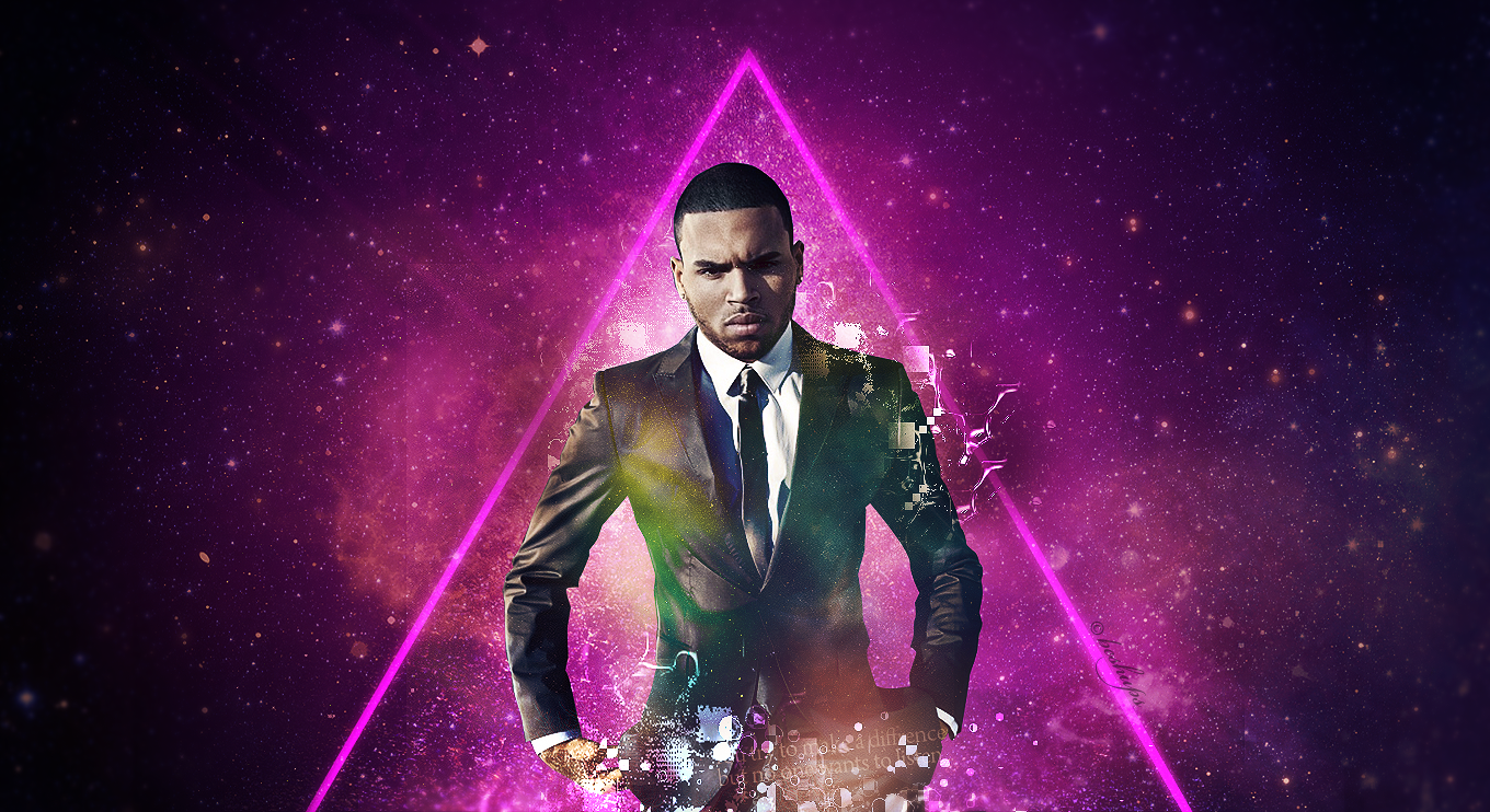 3d Pyramid Wallpaper Hd Chris Brown Wallpapers Full Hd Pictures