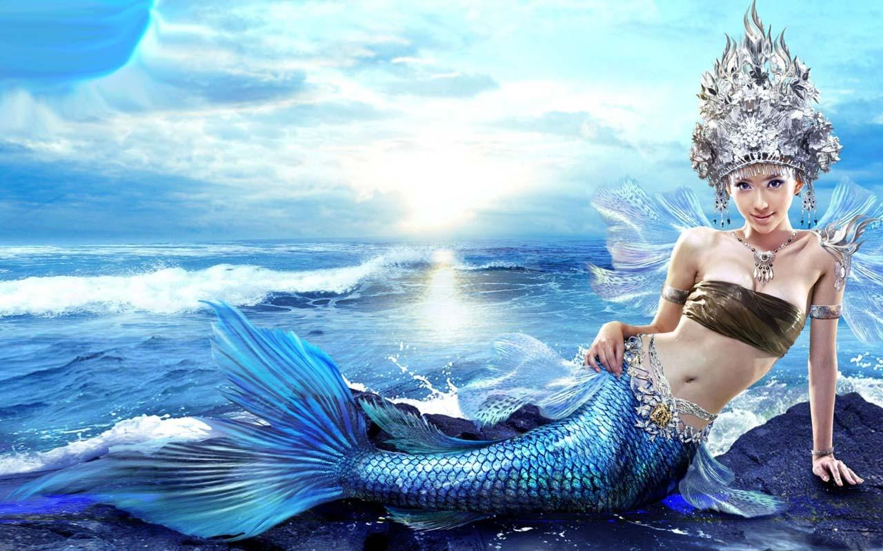 Free Wallpapers Cars And Beautiful Ladies Gorgeous Mermaid Wallpaper Full Hd Pictures