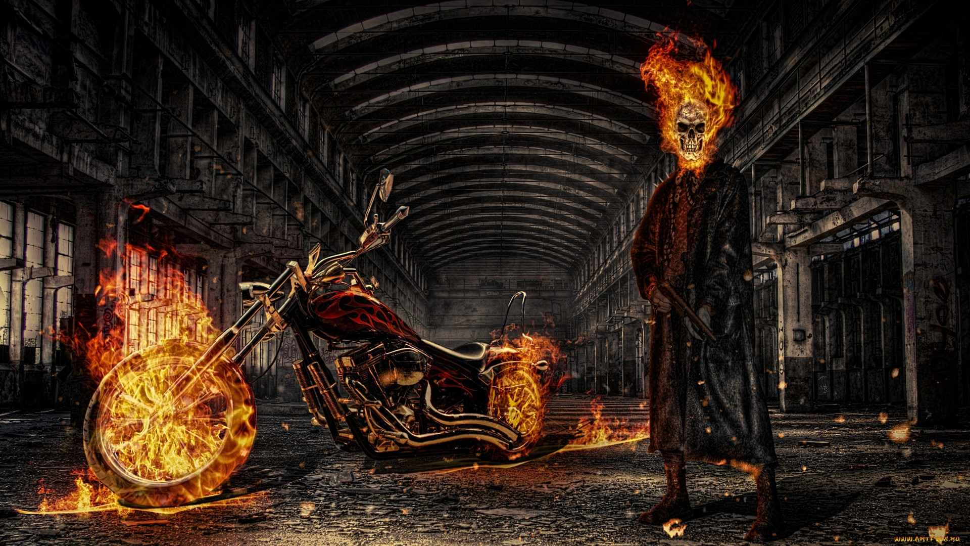 Iphone X Full Wallpaper Size Hd Ghost Rider Wallpaper Full Hd Pictures