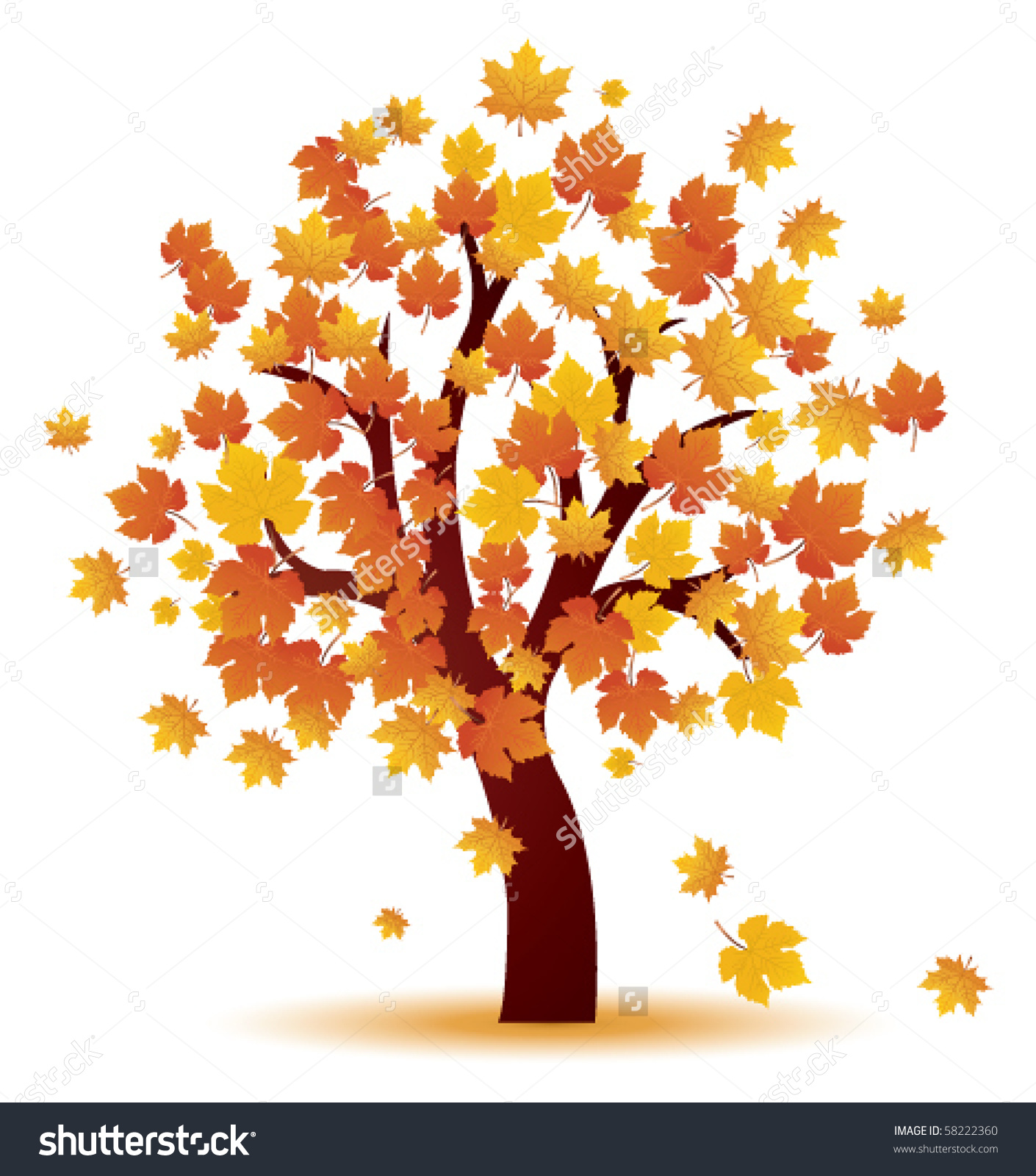 Fall Leaves Clip Art Wallpaper Top Autumn Tree Picture 1410x1600 Full Hd Wall