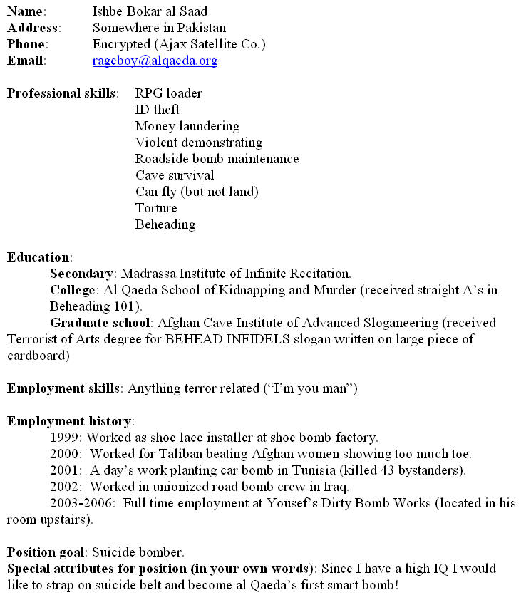 how to feel out a resume - Selol-ink