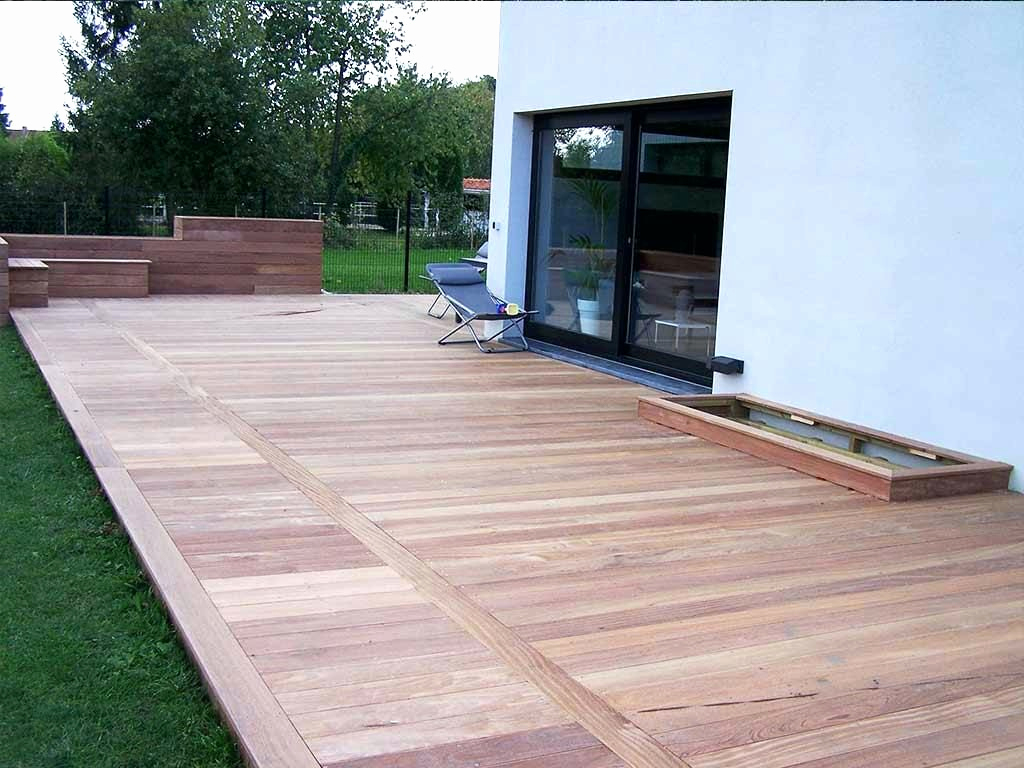 Bois Exotique Terrasse Massaranduba Leroy Merlin Inspirant Dalle En Bois Terrasse Idees Conception Jardin Idees Conception Jardin