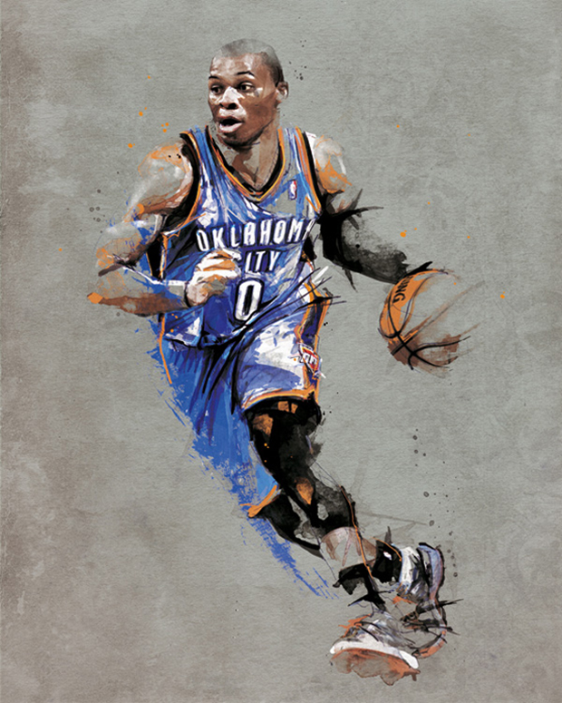 Kyrie Irving Wallpaper 2013 Hd Original Artwork Featuring Russell Westbrook Kyrie Irving
