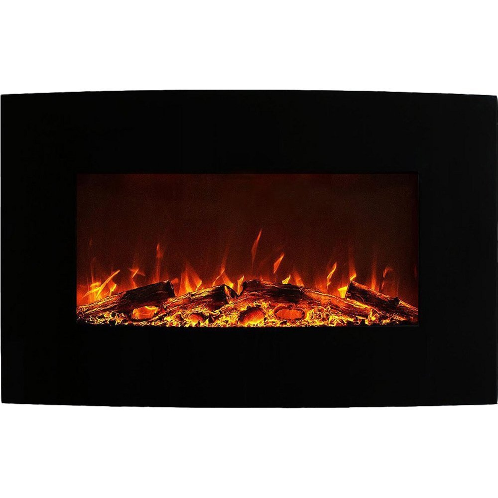 Wall Mount Fireplace Heaters Regal Flame Madison 35 Inch Ventless Heater Electric Wall Mounted Fireplace Log