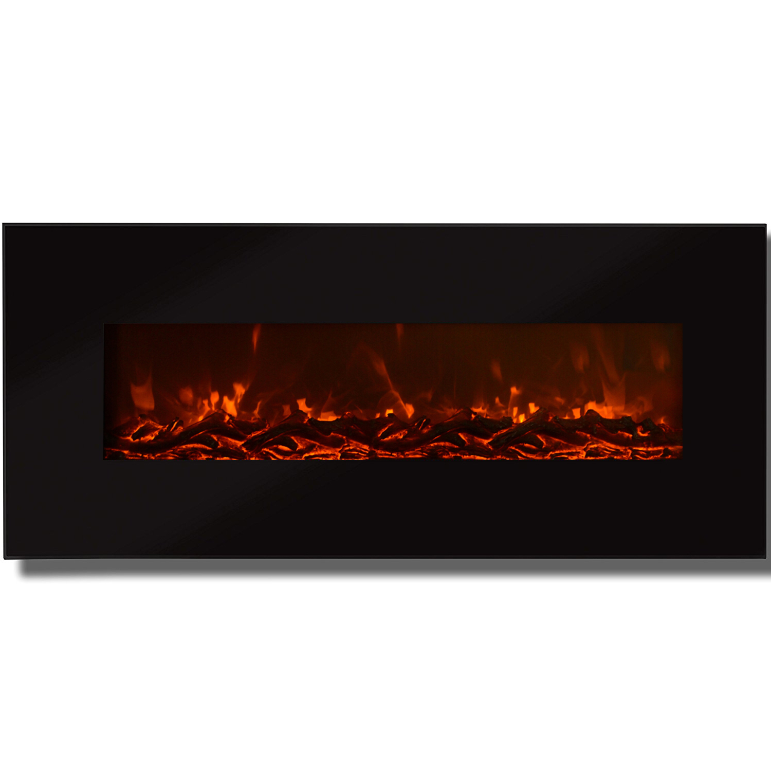 Regal Led Tv 32 Inch Regal Flame Valencia 50 Inch Black Ventless Heater Electric Wall Mounted Fireplace Log