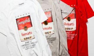 キャンベルスープ缶×BEAUTY&YOUTHプリントTシャツ3色