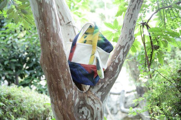 Myalka(ミャルカ)×上野動物園コラボトートバッグを飾った風景
