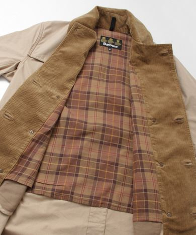 URBAN RESEARCH別注Barbour TRENCH COATの画像9