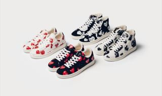 Converse x Comme Des Garcons PLAY Pro Leather Collection画像1