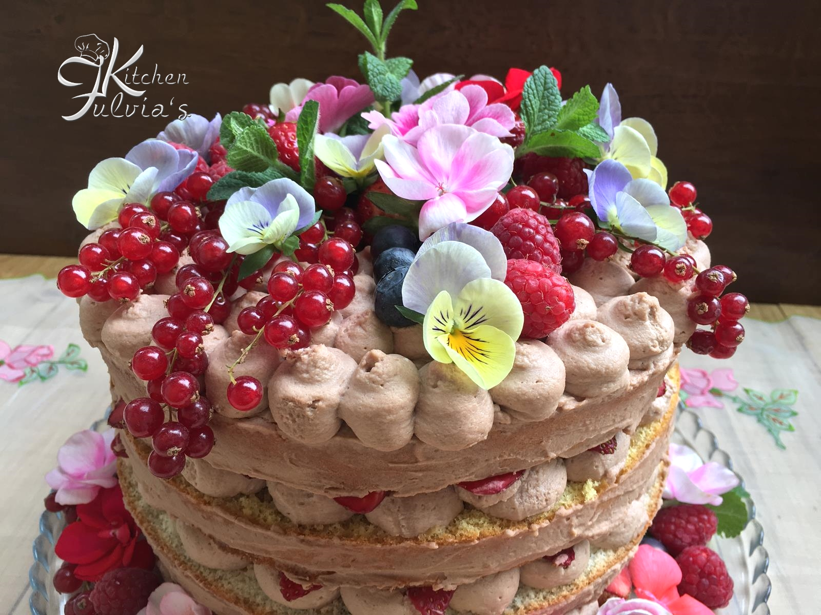 Bagna Per Torta Alle Fragole Naked Cake Torta Nuda Alle Fragole Fulvia 39s Kitchen